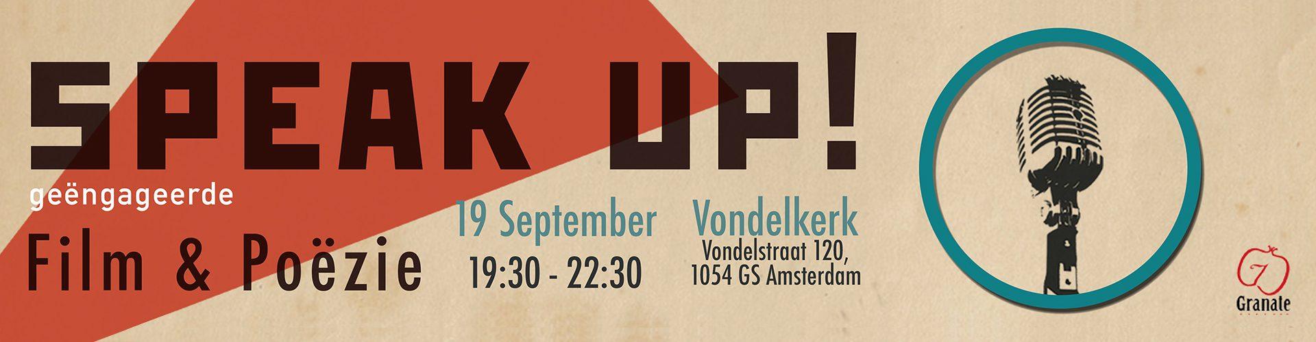 19 Sep 2017 – Speak Up!