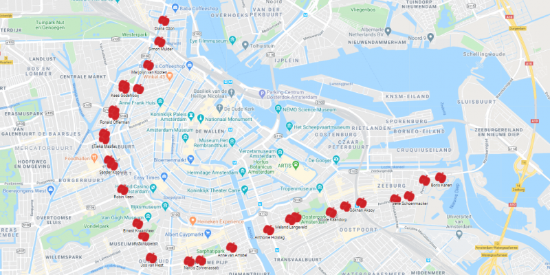 Poëzie op de stoep Map