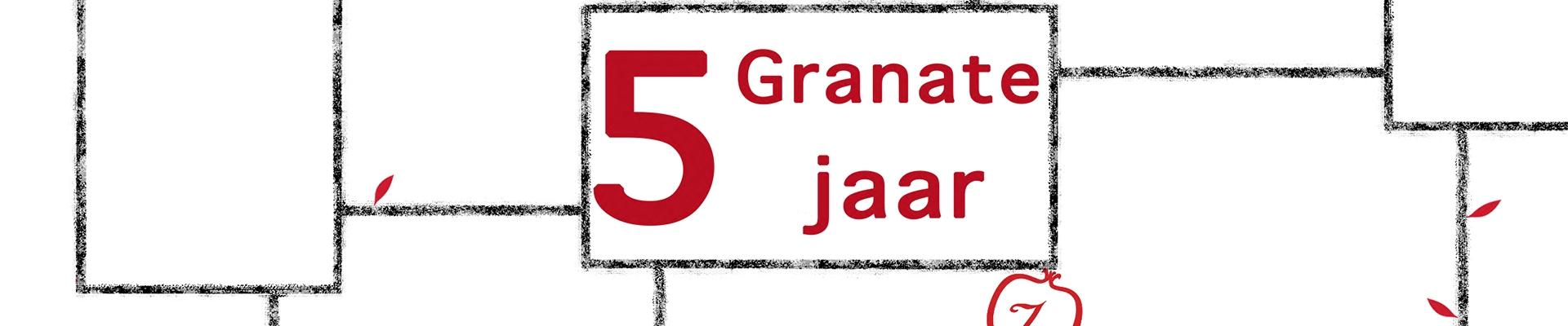 GRANATE 5 jaar