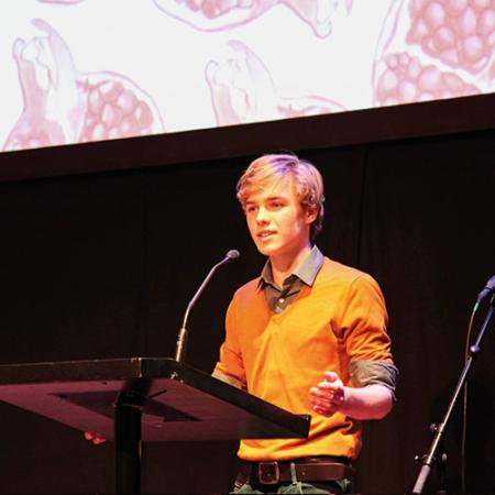 Winnaar Granate Jongeren Poëziewedstrijd 2017
